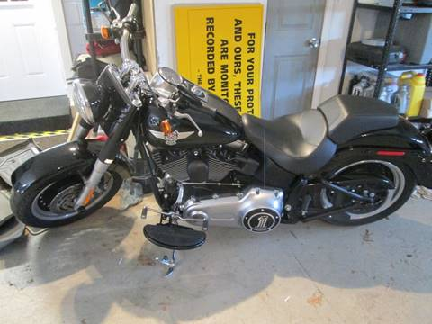 2011 Harley-Davidson FLSTFB FAT BOY for sale in Lowell, MA