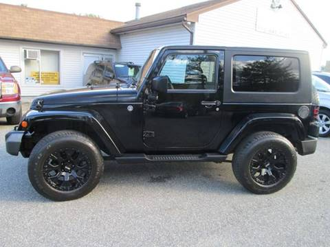 2008 Jeep Wrangler for sale in Lowell, MA
