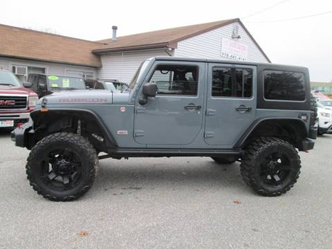 2013 Jeep Wrangler Unlimited for sale in Lowell, MA