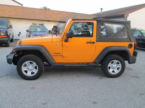 2012 Jeep Wrangler for sale in Lowell, MA