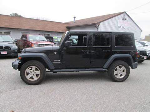 2016 Jeep Wrangler Unlimited for sale in Lowell, MA