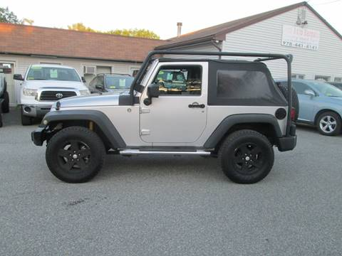 2009 Jeep Wrangler for sale in Lowell, MA