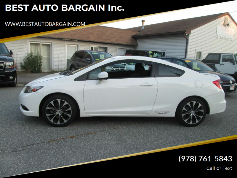 2013 Honda Civic Si 2dr Coupe - Lowell MA