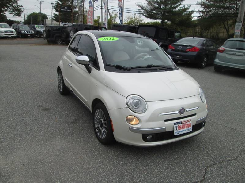 2012 FIAT 500 Lounge 2dr Hatchback - Lowell MA