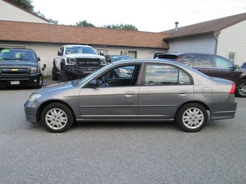 2004 Honda Civic for sale in Lowell, MA