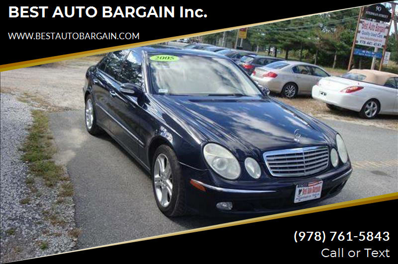 2005 Mercedes-Benz E-Class AWD E 500 4MATIC 4dr Sedan - Lowell MA