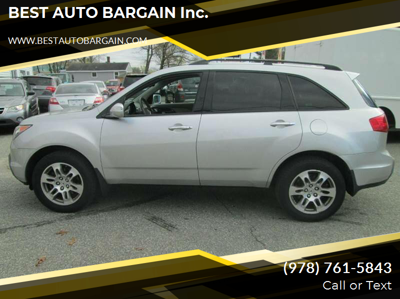 2008 Acura MDX SH-AWD w/Power Tailgate w/Tech 4dr SUV and Technology Package - Lowell MA