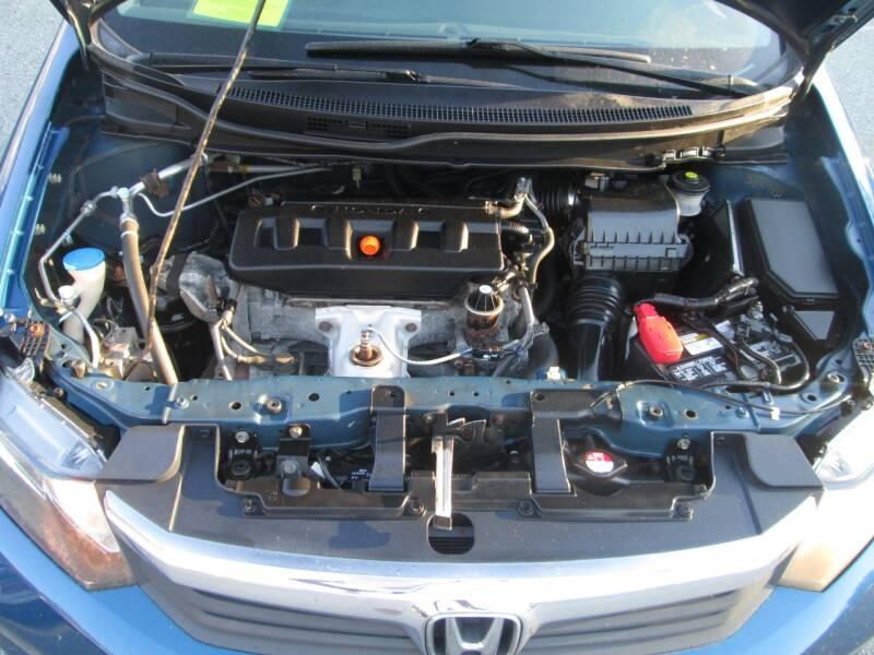2012 Honda Civic LX 4dr Sedan 5A - Lowell MA