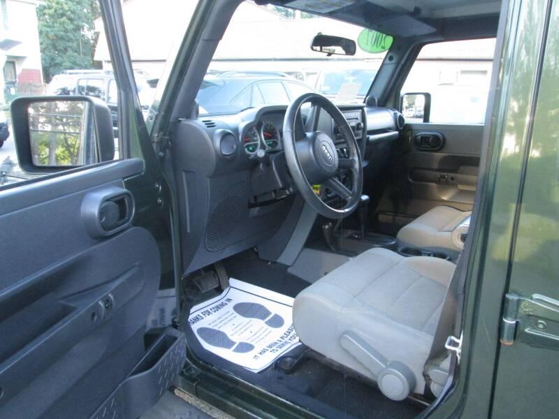 2007 Jeep Wrangler Unlimited 4x4 Sahara 4dr SUV - Lowell MA