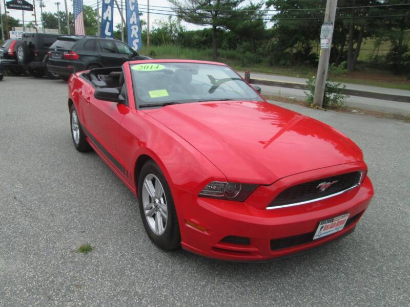 2014 Ford Mustang V6 2dr Convertible - Lowell MA