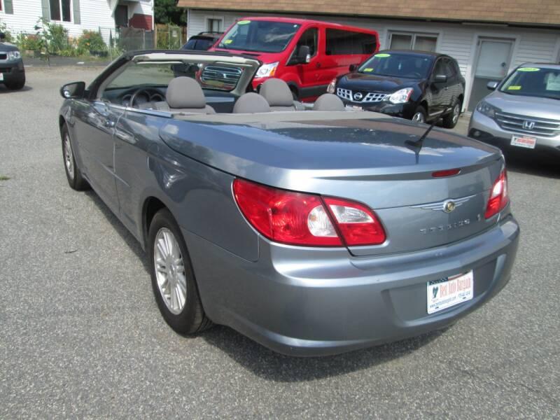 2008 Chrysler Sebring Touring 2dr Convertible - Lowell MA