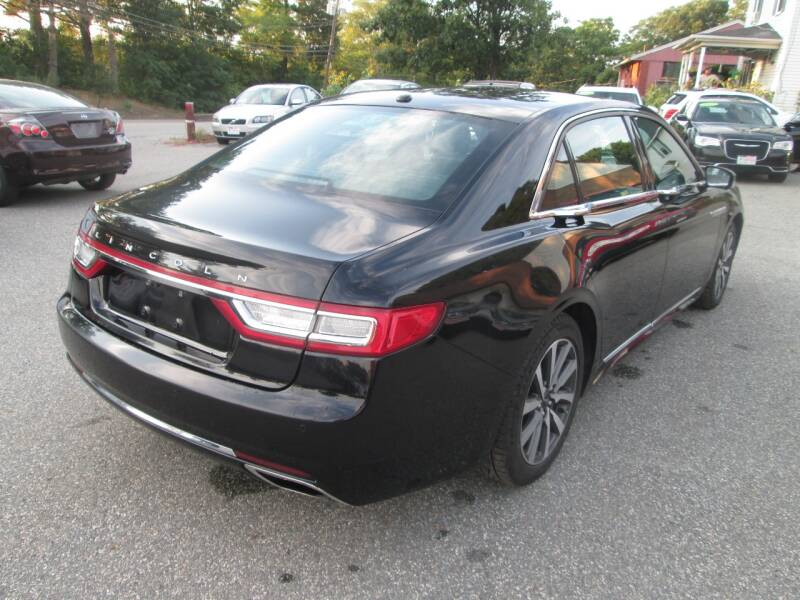 2017 Lincoln Continental AWD Livery 4dr Sedan - Lowell MA