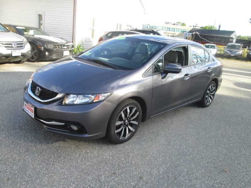 2015 Honda Civic EX-L 4dr Sedan - Lowell MA