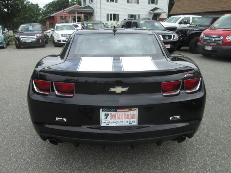2011 Chevrolet Camaro SS 2dr Coupe w/2SS - Lowell MA