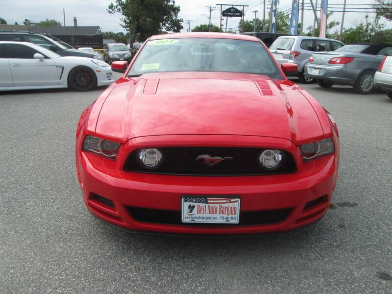 2013 Ford Mustang GT Premium 2dr Fastback - Lowell MA