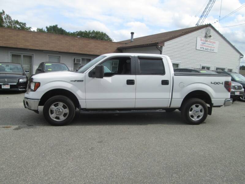 2012 Ford F-150 4x4 XLT 4dr SuperCrew Styleside 6.5 ft. SB - Lowell MA