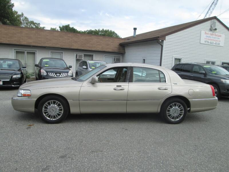 2007 Lincoln Town Car Signature Limited 4dr Sedan - Lowell MA