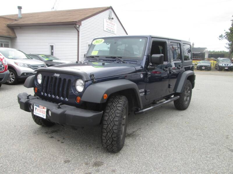 2013 Jeep Wrangler Unlimited 4x4 Sport 4dr SUV - Lowell MA