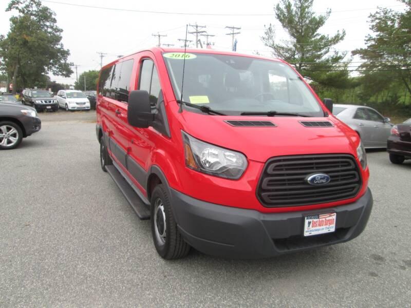 2016 Ford Transit Passenger 350 XLT 3dr LWB Low Roof Passenger Van w/60/40 Passenger Side Doors - Lowell MA