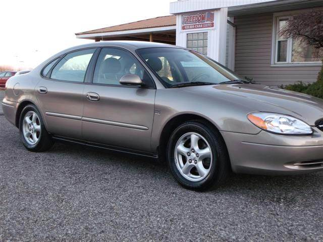 2003 ford taurus ses deluxe 4dr sedan in bellevue oh freedom auto mart sold publicscrutiny Image collections