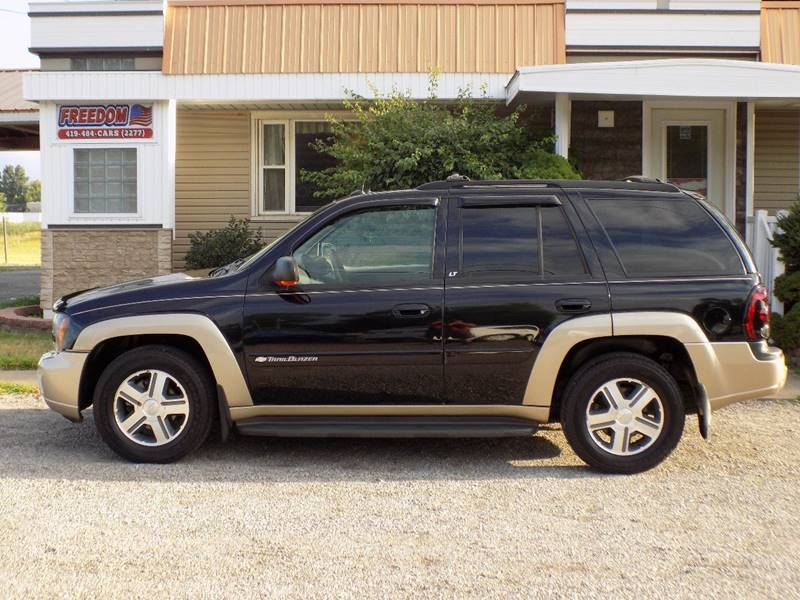 2004 Chevrolet Trailblazer LT 4WD 4dr SUV In Bellevue OH - Freedom