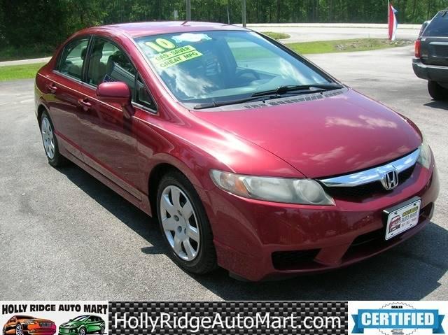 2010 Honda Civic LX 4dr Sedan 5A - Holly Ridge NC