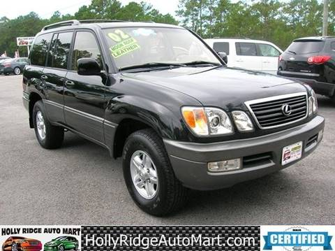 2002 Lexus LX 470 for sale in Holly Ridge, NC