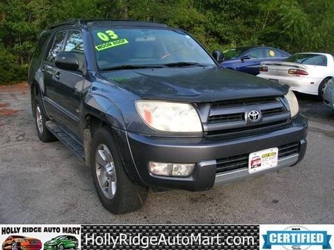 2003 Toyota 4Runner for sale in Holly Ridge, NC