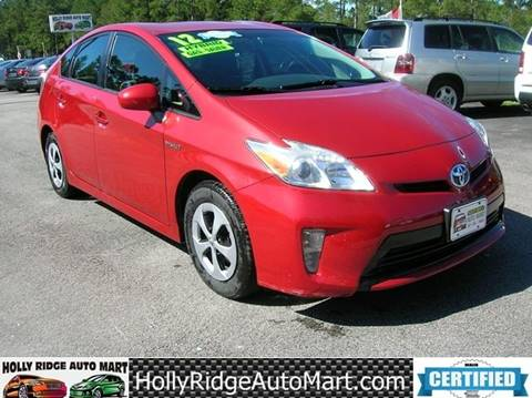 2012 Toyota Prius for sale in Holly Ridge, NC