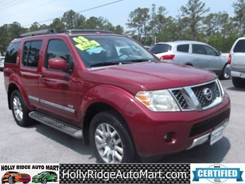 2008 Nissan Pathfinder For Sale >> Nissan Pathfinder For Sale In Holly Ridge Nc Holly Ridge