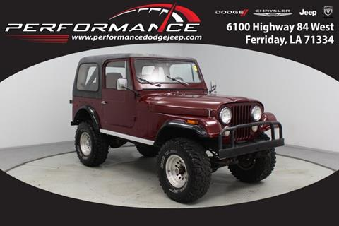 1979 Jeep Wrangler for sale in Ferriday, LA