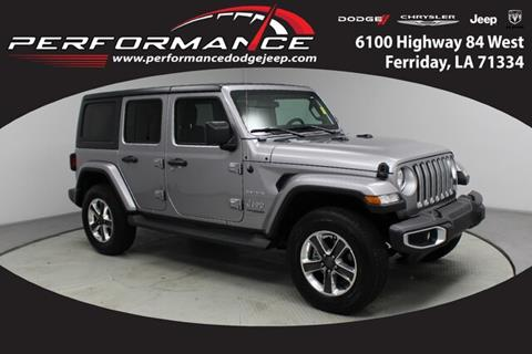 2019 Jeep Wrangler Unlimited for sale in Ferriday, LA