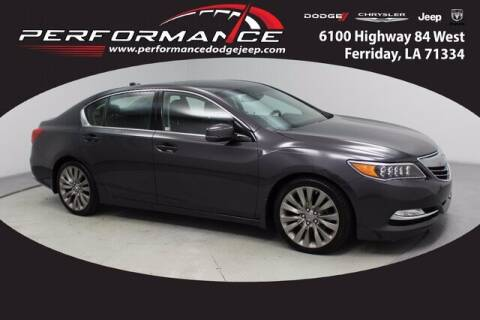 2017 Acura RLX for sale at Performance Dodge Chrysler Jeep in Ferriday LA