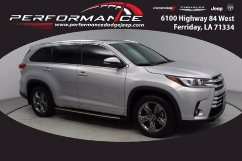 2018 Toyota Highlander for sale at Performance Dodge Chrysler Jeep in Ferriday LA