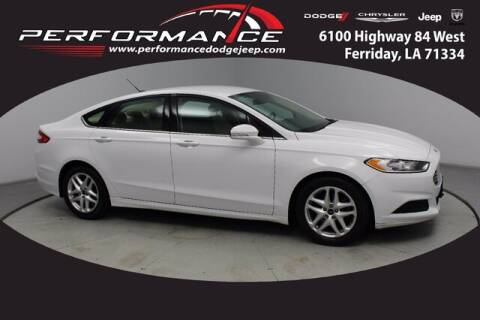 2016 Ford Fusion for sale at Performance Dodge Chrysler Jeep in Ferriday LA