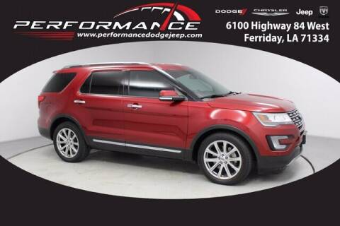 2017 Ford Explorer for sale at Performance Dodge Chrysler Jeep in Ferriday LA