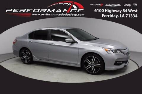 2017 Honda Accord for sale at Performance Dodge Chrysler Jeep in Ferriday LA