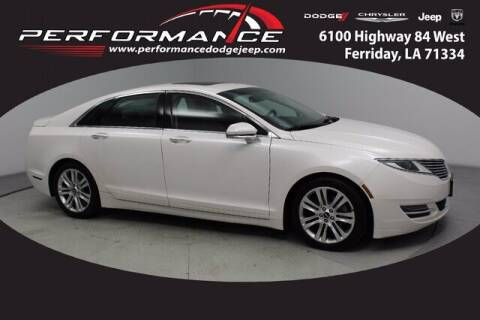 2016 Lincoln MKZ for sale at Performance Dodge Chrysler Jeep in Ferriday LA