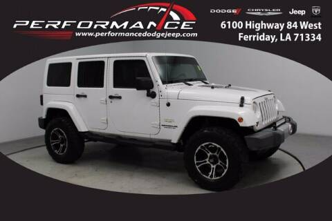 2012 Jeep Wrangler Unlimited for sale at Performance Dodge Chrysler Jeep in Ferriday LA