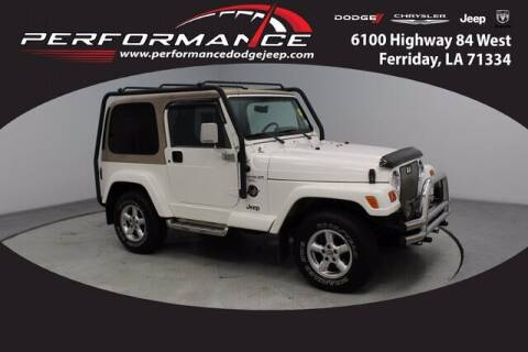 1999 Jeep Wrangler for sale at Performance Dodge Chrysler Jeep in Ferriday LA