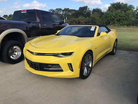 2016 Chevrolet Camaro for sale at Performance Dodge Chrysler Jeep in Ferriday LA