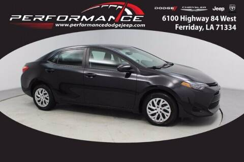 2019 Toyota Corolla for sale at Performance Dodge Chrysler Jeep in Ferriday LA