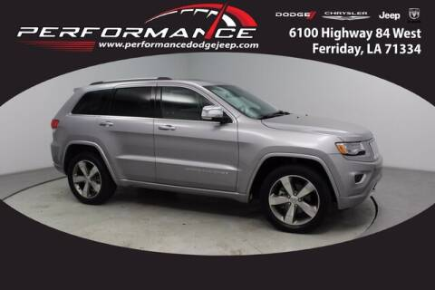 2016 Jeep Grand Cherokee for sale at Performance Dodge Chrysler Jeep in Ferriday LA