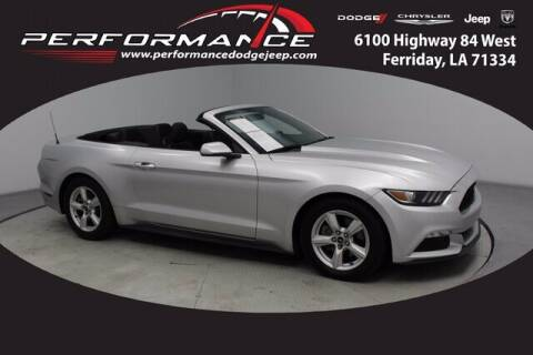 2015 Ford Mustang for sale at Performance Dodge Chrysler Jeep in Ferriday LA