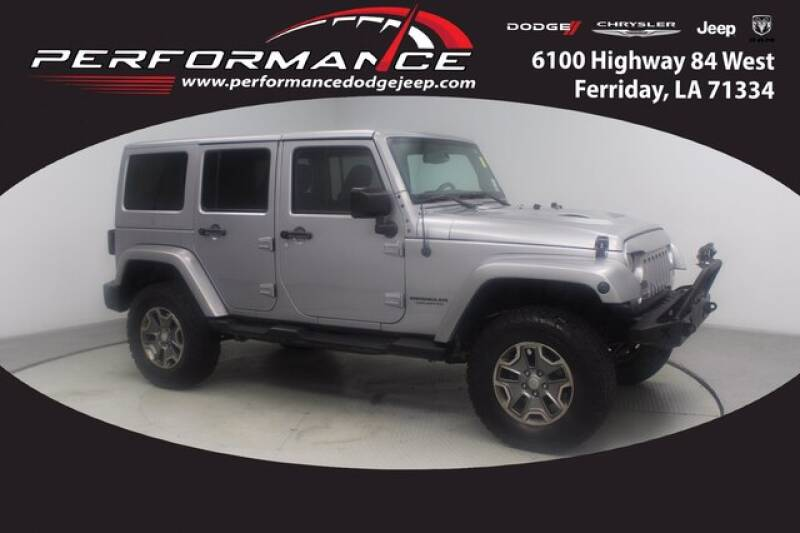 2015 Jeep Wrangler Unlimited for sale at Performance Dodge Chrysler Jeep in Ferriday LA