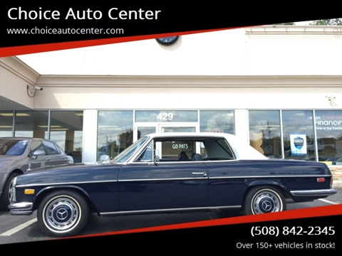 1972 Mercedes-Benz 250 C for sale at Choice Auto Center in Shrewsbury MA