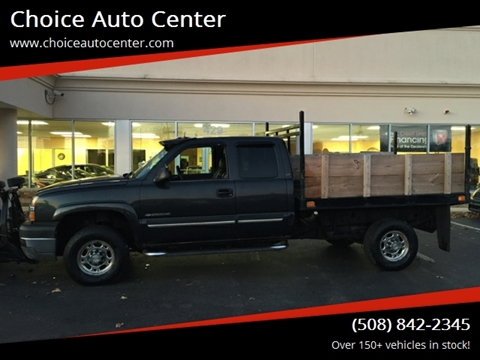 2003 Chevrolet Silverado 2500HD for sale at Choice Auto Center in Shrewsbury MA