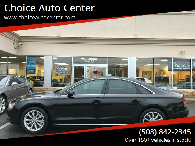 2011 Audi A8 for sale at Choice Auto Center in Shrewsbury MA