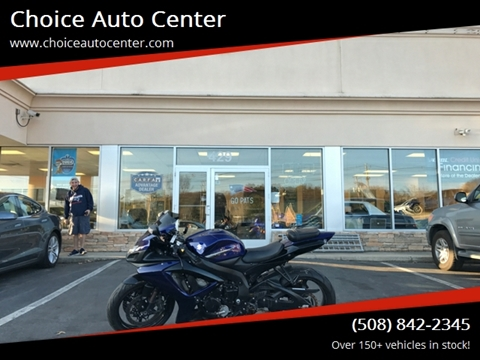 2007 Suzuki Gsxr750 for sale at Choice Auto Center in Shrewsbury MA