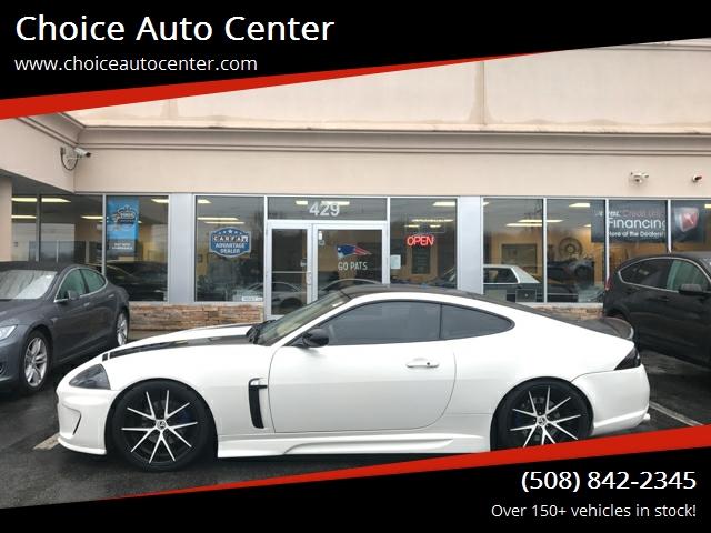 2009 Jaguar XK for sale at Choice Auto Center in Shrewsbury MA